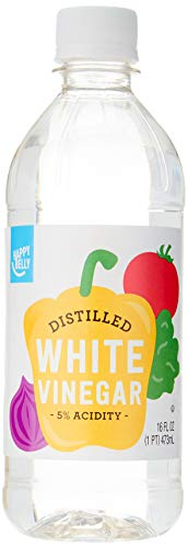 Amazon Brand - Happy Belly White Distilled Vinegar, Kosher, 16 Fluid Ounces