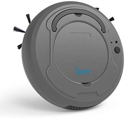 CHAKWAN Robot Aspirador, Aspirador Robótico Automática con Sensores Anticaída para Suelos Duros y Alfombras, Aspiradores Robot con Poder de Succión 1800 Pa, Gris: Amazon.es: Hogar