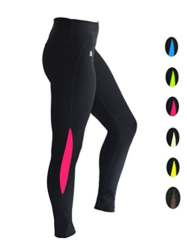 dimok Yoga Pants High-Waist Tummy Control w Hidden