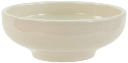 Crestware China Porcelain - Crestware Dover 6.375-Inch Footed Nappie Bowl, 12-Pack
