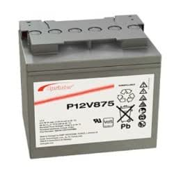 Exide–Batería de plomo Sprinter p12V87512,0V 41.000mAh con roscada M6