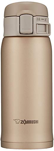 Zojirushi SM-SE36NZ Stainless Steel Vacuum Insulated Mug, 12-Ounce, Beige Gold