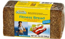 Mestemacher Fitness Bread - 17.6 Oz (Pack of 6) by Mestemacher