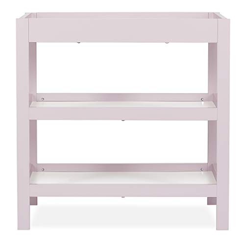 Dream On Me, Ridgefield Changing Table, Blush Pink and White