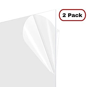 master cover sheet for poster frames 24x36 inch clear plastic 2 pack