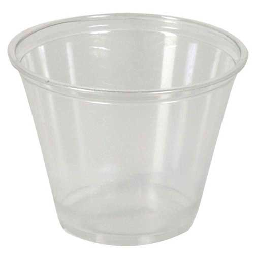 Dixie Clear Squat PETE Plastic Cup, 9 Ounce -- 1000 per case. by Dixie