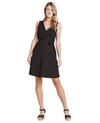Toad&Co Cue Wrap SL Dress - Women's Black Small