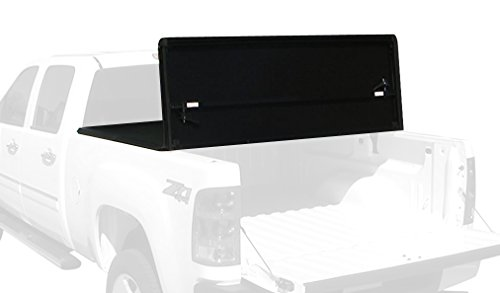 Tonno Pro HF-250 Black Hard Fold Truck Bed Tonneau Cover 2002-2018 Dodge Ram 1500, 2003-2018 Dodge Ram 2500, 3500 | Fits 6.4′ Bed