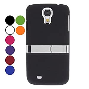 Light Surface Hard Case with Stand for Samsung Galaxy S4 I9500 (Assorted Colors) , Red