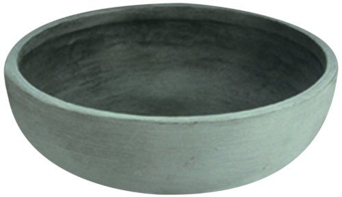 Lovely Crescent Garden A468092 30 Inch Orinoco Planter Bowl In Weathered Concrete:  Amazon.co.uk: Garden U0026 Outdoors