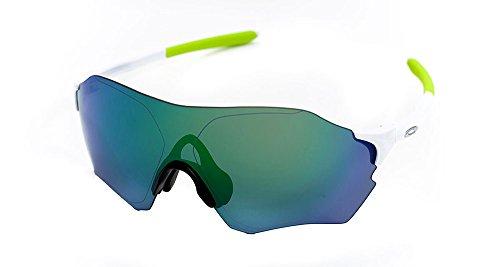 Oakley Sunglasses EVZero Range AF - OO9337 04 - Polished White/Jade Iridium by EF