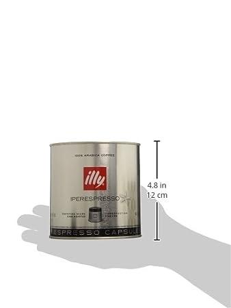 Cápsulas Illy IperEspresso Dark Roast café, 21-count cápsulas - Paquete de 6: Amazon.es: Hogar
