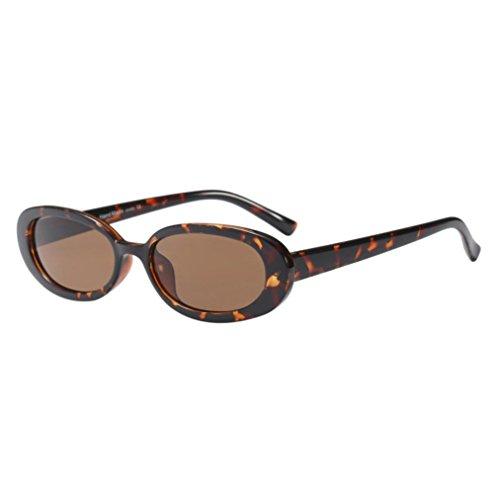Fashion Vintage Small Oval Frame Sunglasses Retro Fashion Eyewear By Limsea
