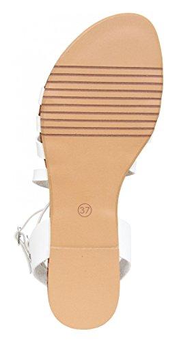 Sandalias de Mujer MTNG 93096 VACHE BLANCO