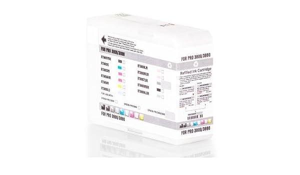 Inka Doo® Cartuchos para Epson Stylus Pro 3880 equivalente a Epson ...