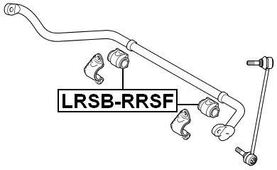 Front Stabilizer Bushing Oem Land Rover Lr018347