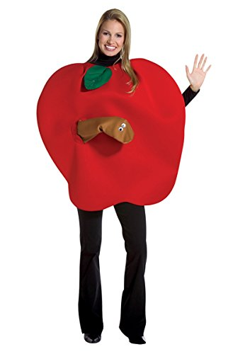 Red Apple Child Costumes (Rasta Imposta Apple, Red, One Size)