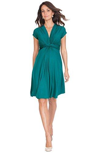 Seraphine Maternity Women's Fuchsia Knot Front Seraphine - Pregnancy Middleton Kate Fashion