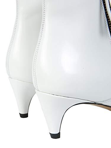 Stivaletti Woman Star Marant Bo016818a014s20 Isabel pelle bianca da donna in Fq8xvrF