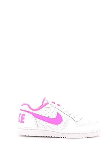 Nike Mädchen Court Borough Low (Ps) Basketballschuhe Weiß