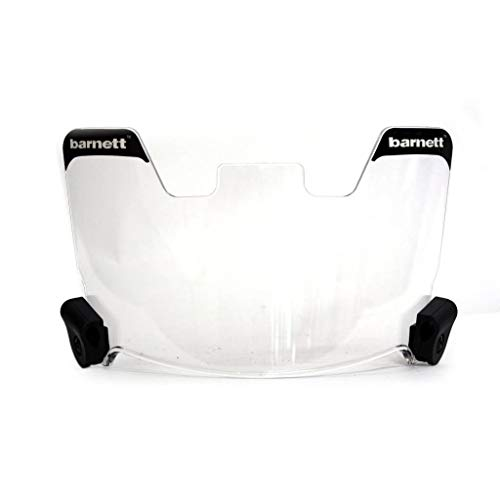 Barnett Football and Lacrosse Helmet Eye-shield Visor, Clear