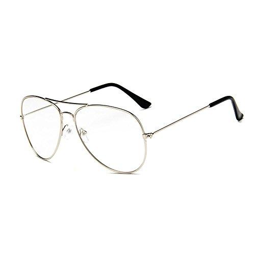 D.King Classic Aviator Full Mirror Lens Men Women Sunglasses Metal Frame Eyewear Sun Glasses - Sunglasses Seven King