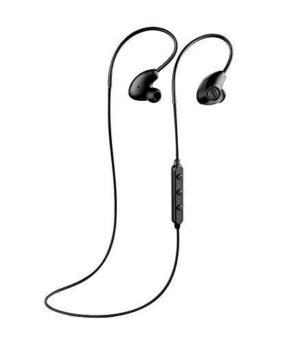 "Motorola Verve Loop 500 ANC Sweat & Water Resistant Stereo Bluetooth 4.2 Earbuds ""Siri & Google"" Compatible (Retail Packing Kit) - Black"