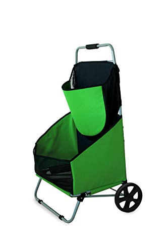 (Kokido Pool Kart Compact Maintenace & Equipment Storage Caddie Cart Trolley Kit)