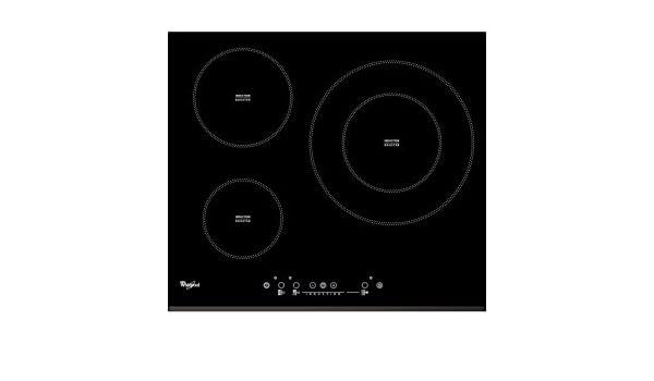Whirlpool - Placa de inducción acm334/bf con 3 zonas de ...