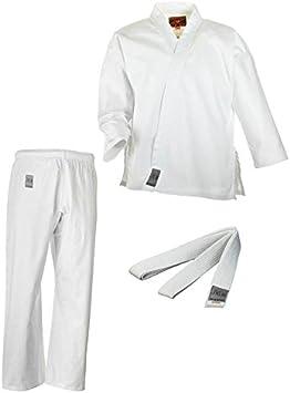 110 bis 150 Ju-Sports Karate Anzug Bonsai mit Wei/ßgurt 9311 Gr