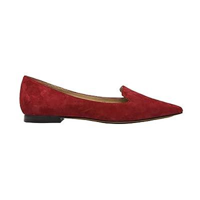 Linea Paolo - Portia - Stud Adorned Suede Slip-On Moc Slipper Comfortable Flat