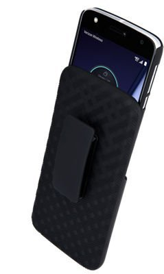 Price comparison product image Verizon OEM Shell Holster Combo for Motorola Moto Z Play Droid - Black