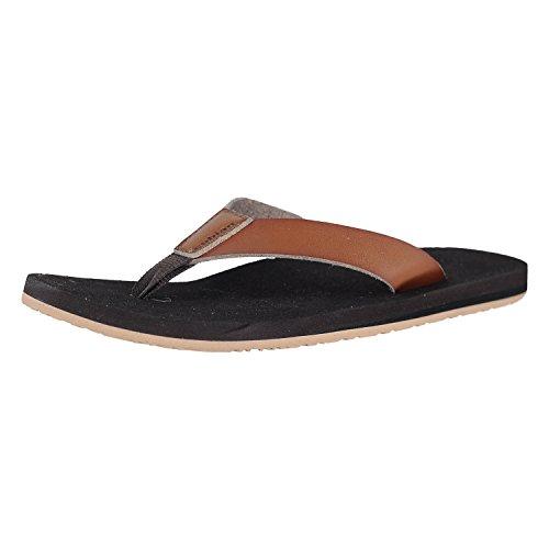 Cobian Loreto Brown Mens Flip-Flop Size 11M
