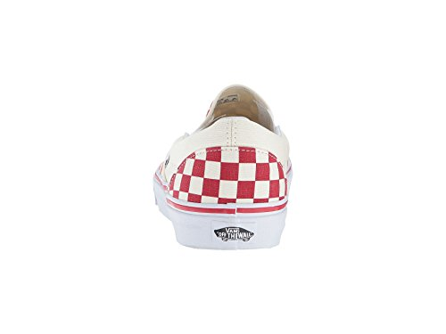 Checker Erwachsene Weiß Rot Sneakers Red White AUTHENTIC Racing Vans Unisex 1xqYYH