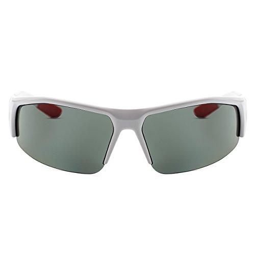 autres la air cadre de lentille de sports soleil vélo plein G15 vert Lunettes YUFENRA pour la blanc de polarisées sportives pêche le conduite et 4TwWUvO