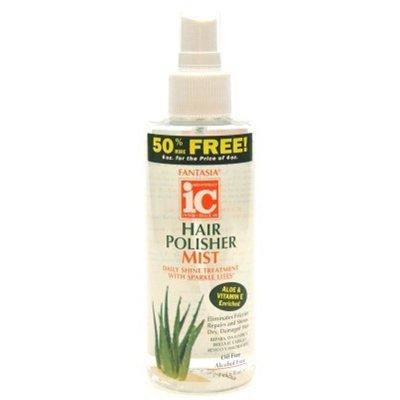 (Fantasia Ic Hair Polisher Mist 6 Ounce Bonus Pump (177ml) (3 Pack))