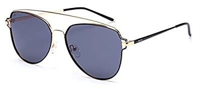 "PRIVE REVAUX ""The Celebrity"" Handcrafted Designer Aviator Sunglasses"