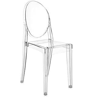 Kartell Victoria Ghost Chair Transparent