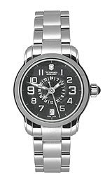 Victorinox Swiss Army Women's 241260 Vivante Black Guilloche Dial Watch