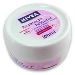 Nivea Pink Cream Natural Tone 7oz Crema Nivea Aclarado Natural 200ml