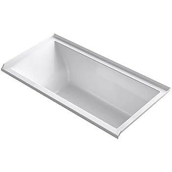 Kohler K 1121 R 0 Underscore 60 Quot X 30 Quot Alcove Bath With