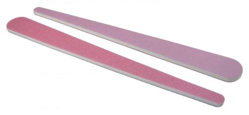 Rose 180/Lavender 320 Mylar - Teardrop Nail File 50 Pack