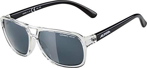 Alpina Niños yalla Sol de Black Gafas clear fRPf6rxqdw