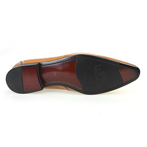 [ルシウス] LUCIUS 20種類から選ぶ 牛革 革靴 スリッポン ローファー クロコダイル 型押し タッセル カジュアル ビット メンズ ビジネス