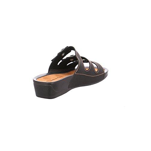 Tamaris 1-1-27500-20/009, Mules Pour Femme - Noir - Black Nubuc, 40 EU