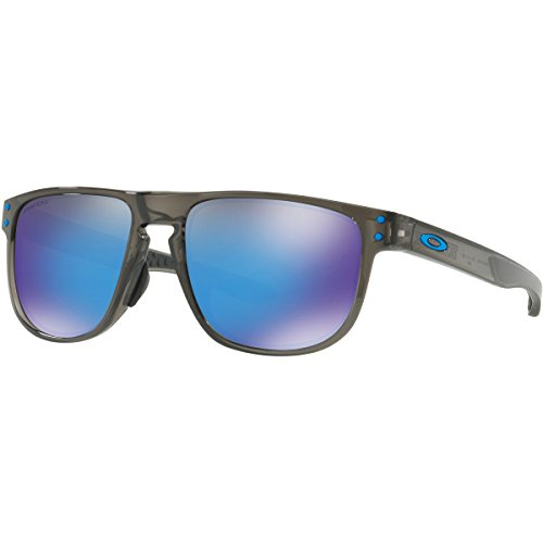 Oakley Men's Holbrook R (a) Non-Polarized Iridium Square Sunglasses, Grey Smoke, 55.0 - Fit Oakley Polarized Asian