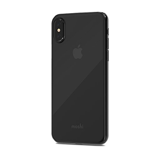 Moshi SuperSkin for iPhone X - Exceptionally thin Protective Case (Black)