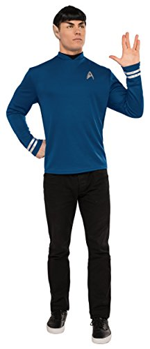 Original 2016 Halloween Costumes (Rubie's Costume Co. Men's Star Trek: Beyond Spock Costume Shirt, As Shown, Small)