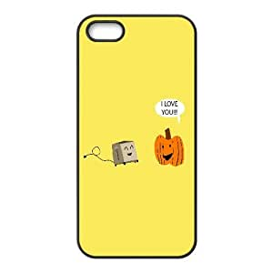 Pumpkin Loves The Toaster Funny 0 iPhone5s Cell Phone Case Black persent xxy002_6873741