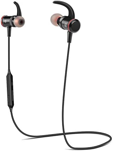 [Gesponsert]TOWAYS Bluetooth Wireless In-Ear Leicht Sport Kopfhörer IPX5 Wasserdichtes Magnetisches Headset mit 10 Stunden Wiedergabezeit,für iPhone,Samsung,Huawei und mehr